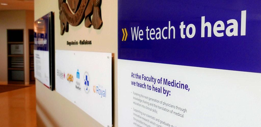 ninesixteen — Project — uOttawa Faculty of Medicine Environmental Branding