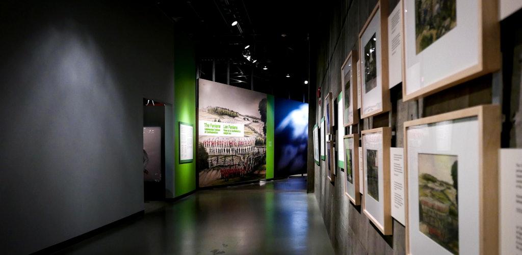 ninesixteen — Project — CWM 'Fenians' Exhibit