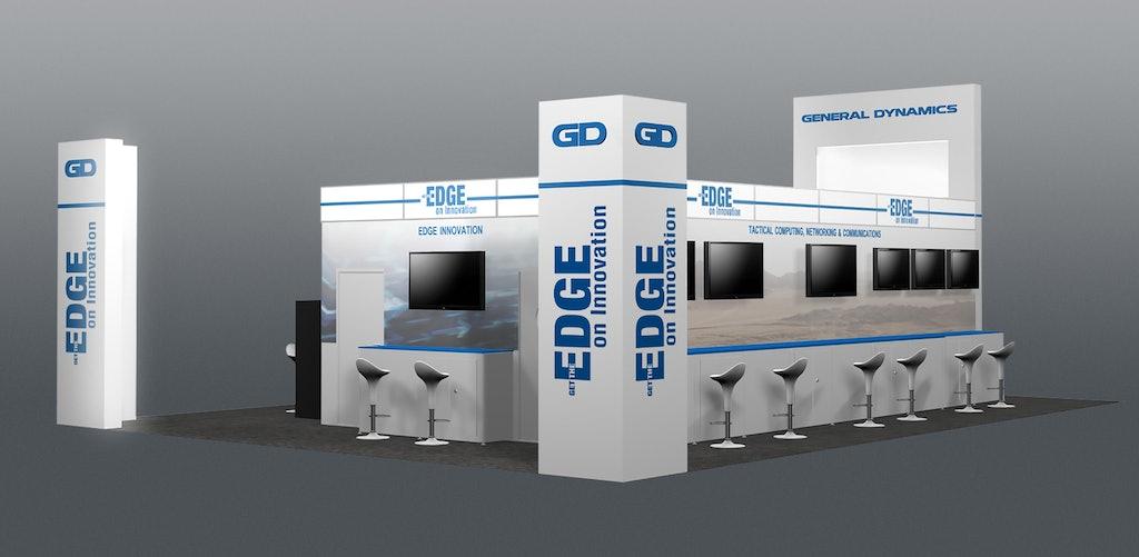 CANSEC Booth / ninesixteen — Ottawa branding, exhibit and